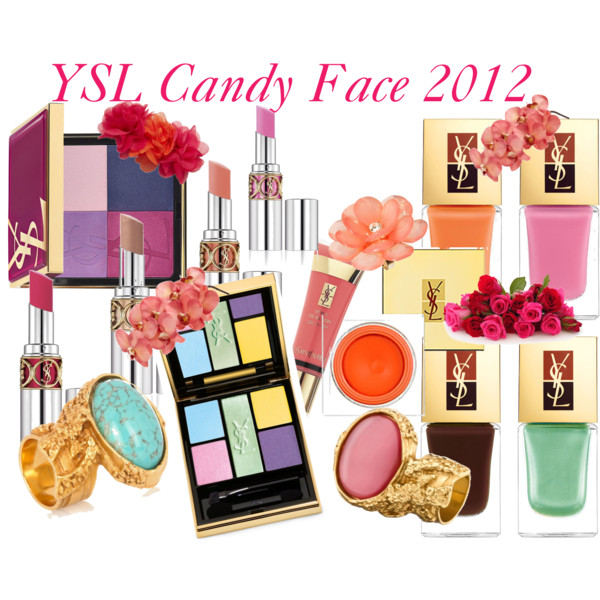YSL CANDY FACE 2012