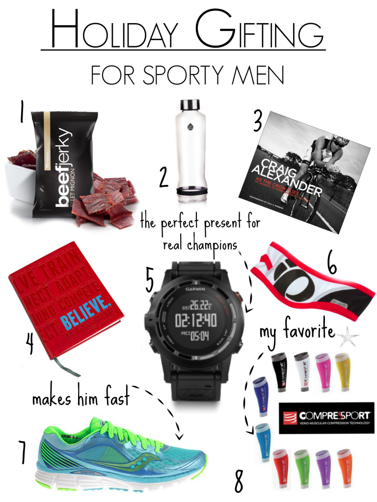 holiday giftinge sporty men
