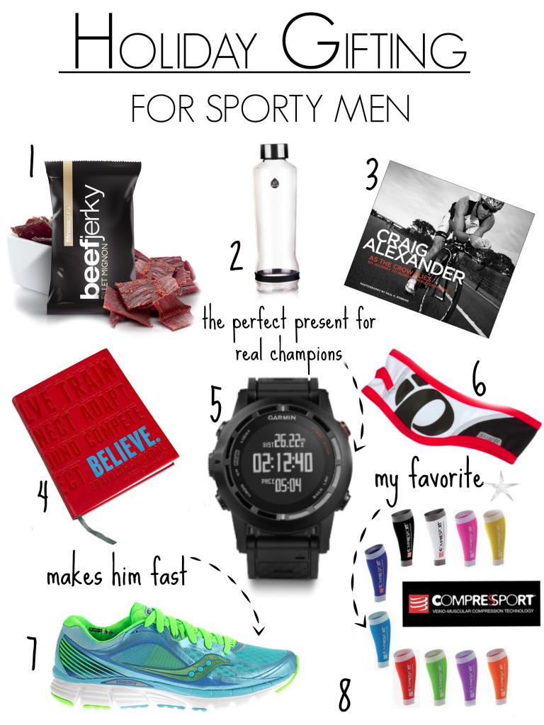 holiday giftinge sporty men